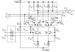 低噪声放大器设计电路结构